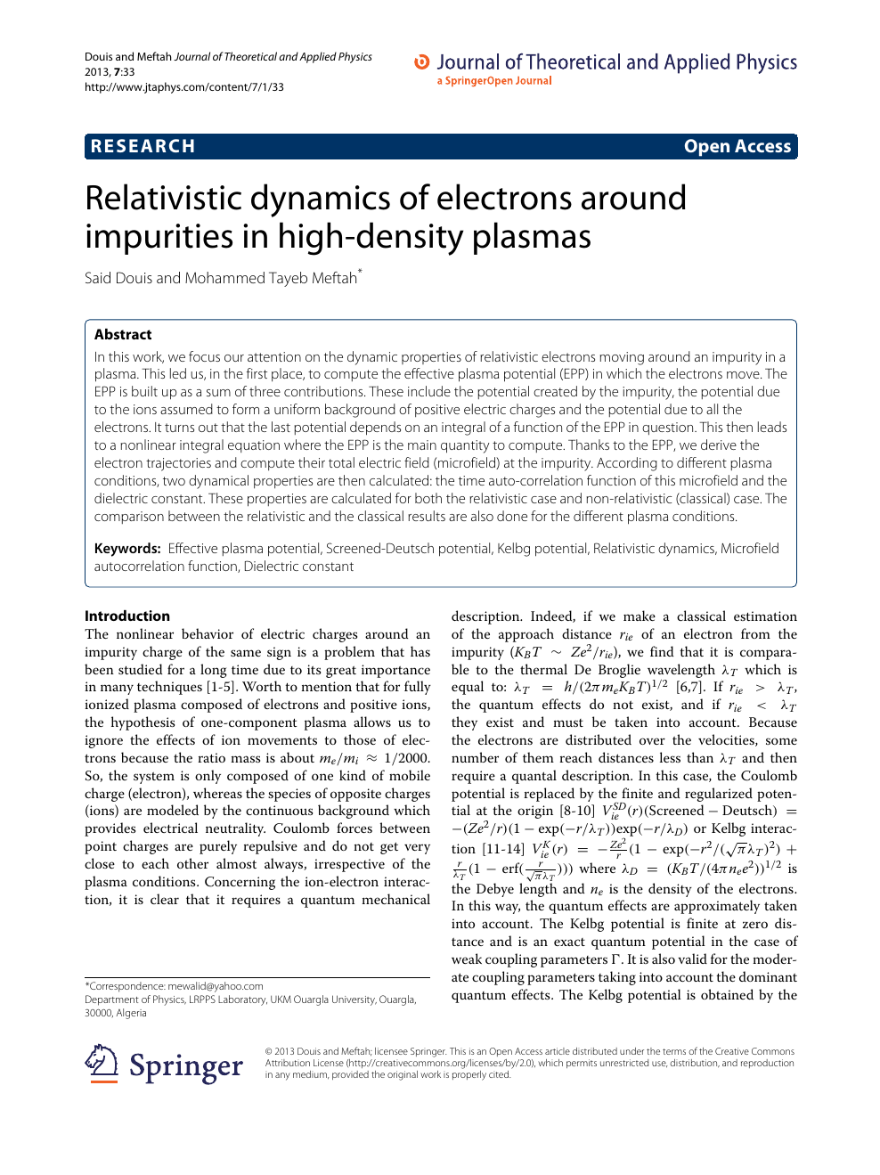 Relativistic dynamics of electrons around impurities in high