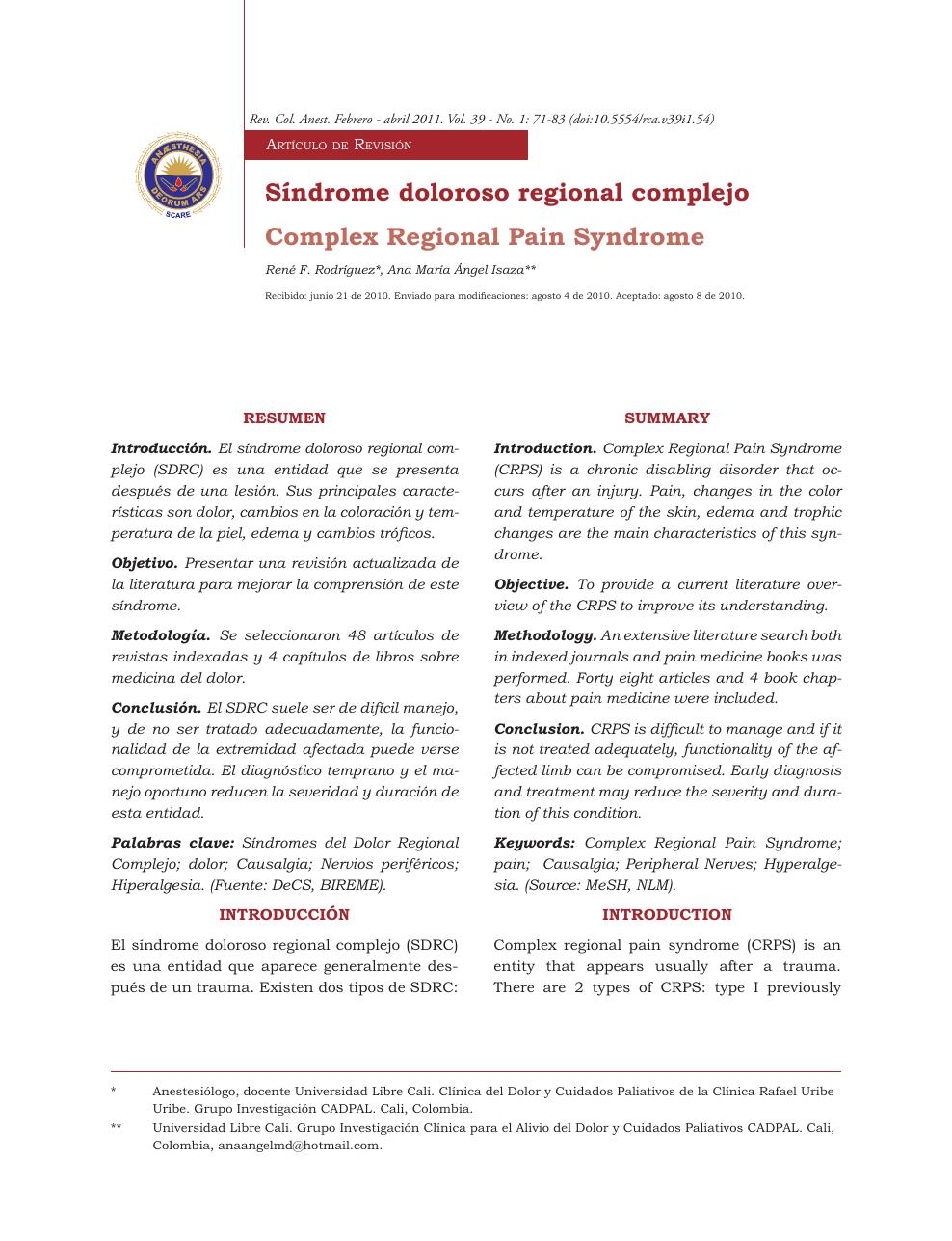 diagnostic de edem articular