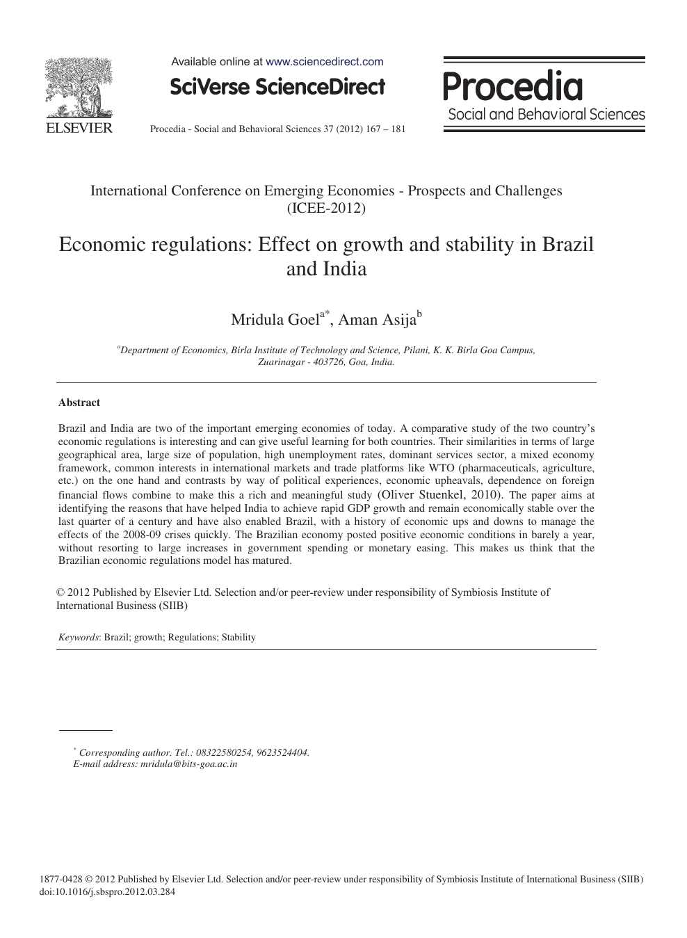 brazil mixed economy