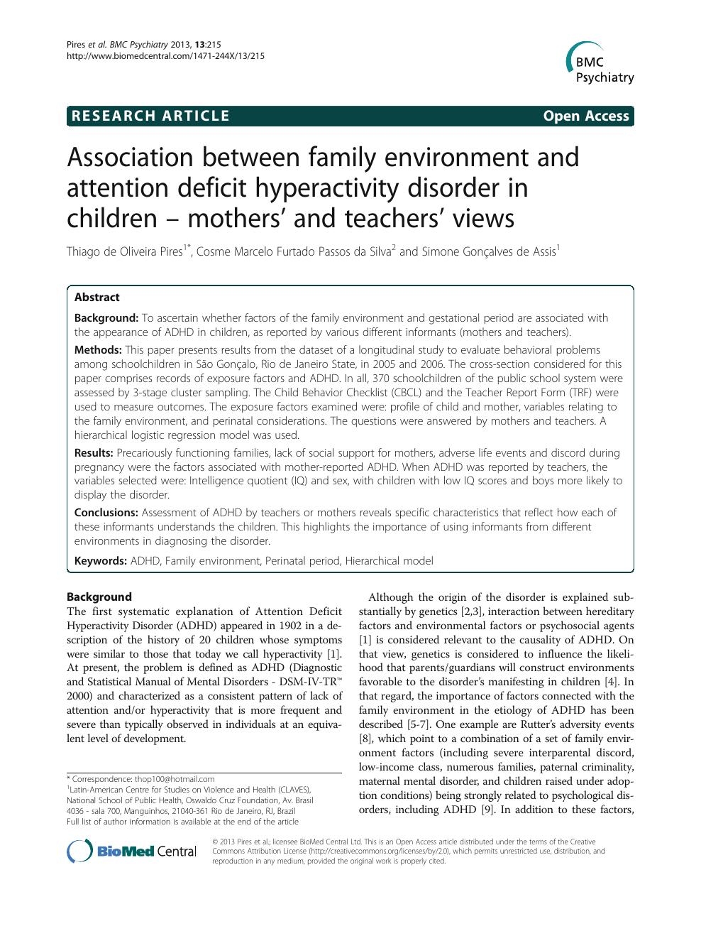 family studies research topics