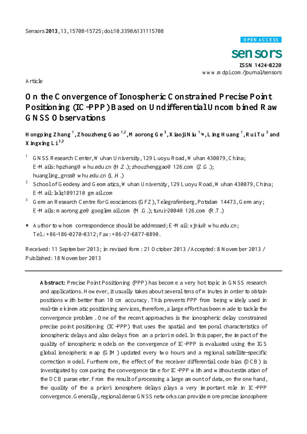 On the Convergence of Ionospheric Constrained Precise Point