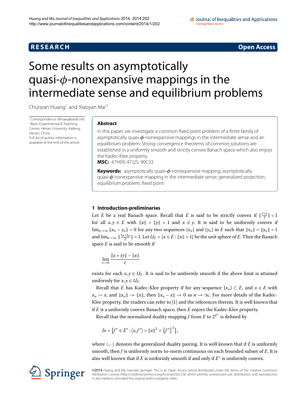 Some results on asymptotically quasi-ϕ-nonexpansive mappings