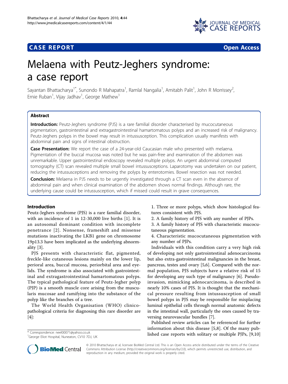 Enjoyable Melaena With Peutz Jeghers Syndrome A Case Report Topic Theyellowbook Wood Chair Design Ideas Theyellowbookinfo